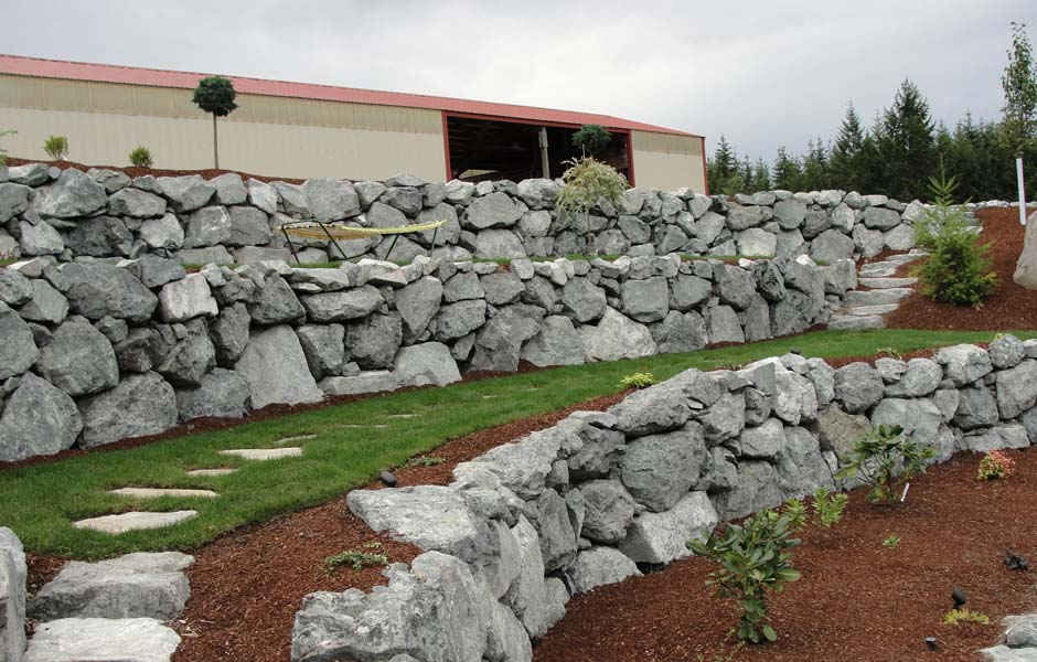 retaining walls in salt lake ridgeline landscaping salt lake city