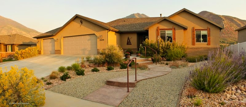 Xeriscaping ridgeline landscaping salt lake city for Xeriscape images