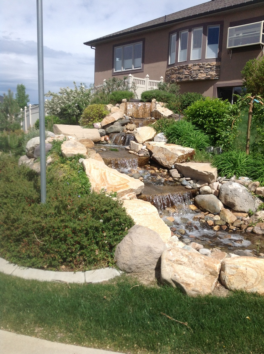 Blog ridgeline landscaping salt lake city for Custom landscaping